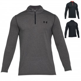 Sweat 1/4 Zip Threadborne Fitted - Under Armour 1290270