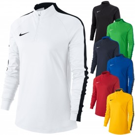 Sweat d'entraînement Drill Top Academy 18 Femme - Nike 893710