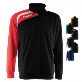 Sweat Contrasto 1/2 Zip Arqua Training - Kappa 302DSJ0