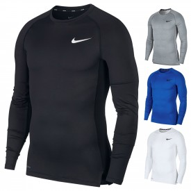 Maillot de compression Crew Long Sleeve Top - Nike BV5588