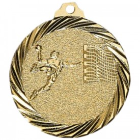 Médaille Handball Or 32 mm - France Sport F_NX10D