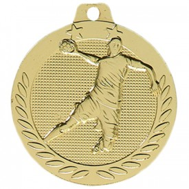 Médaille Handball Or 40 mm - France Sport F_DX12D